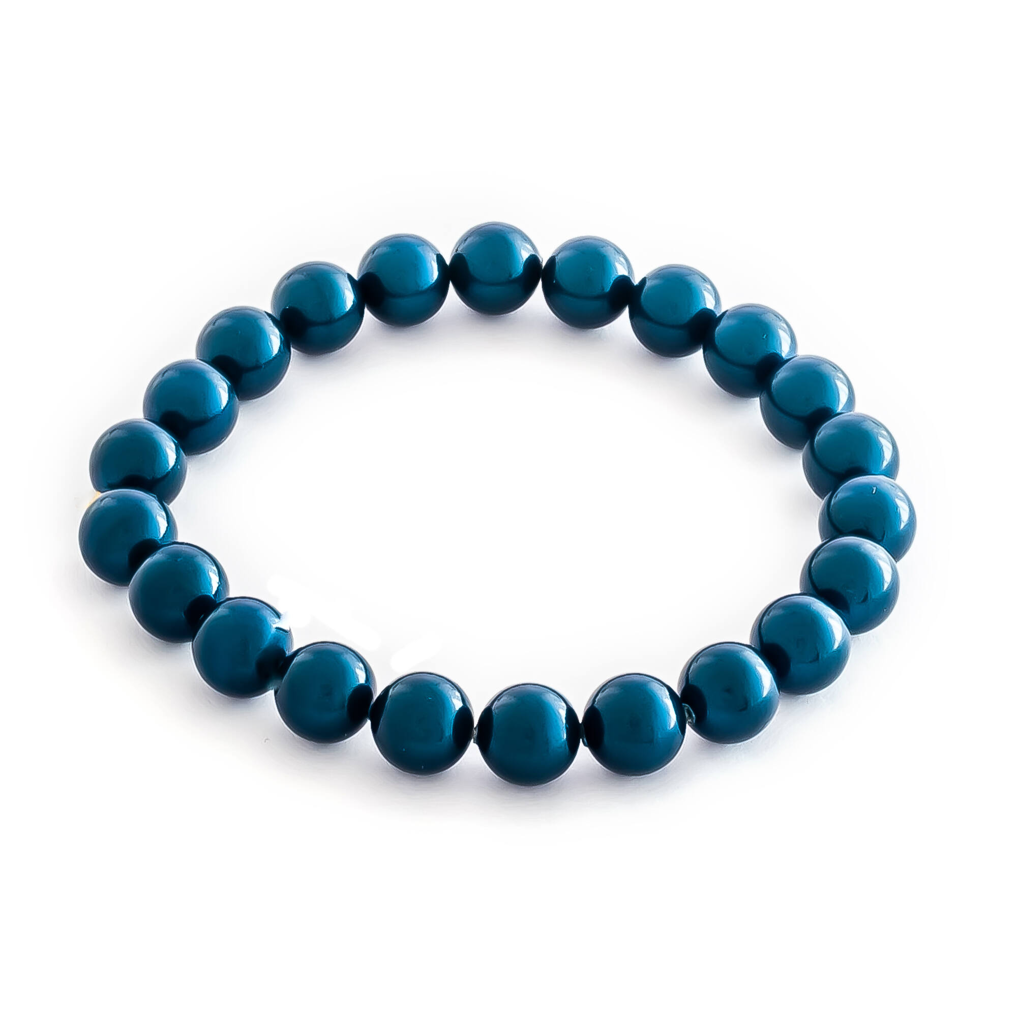 EGYSOROS GYÖNGY KARKÖTŐ - dark  blue