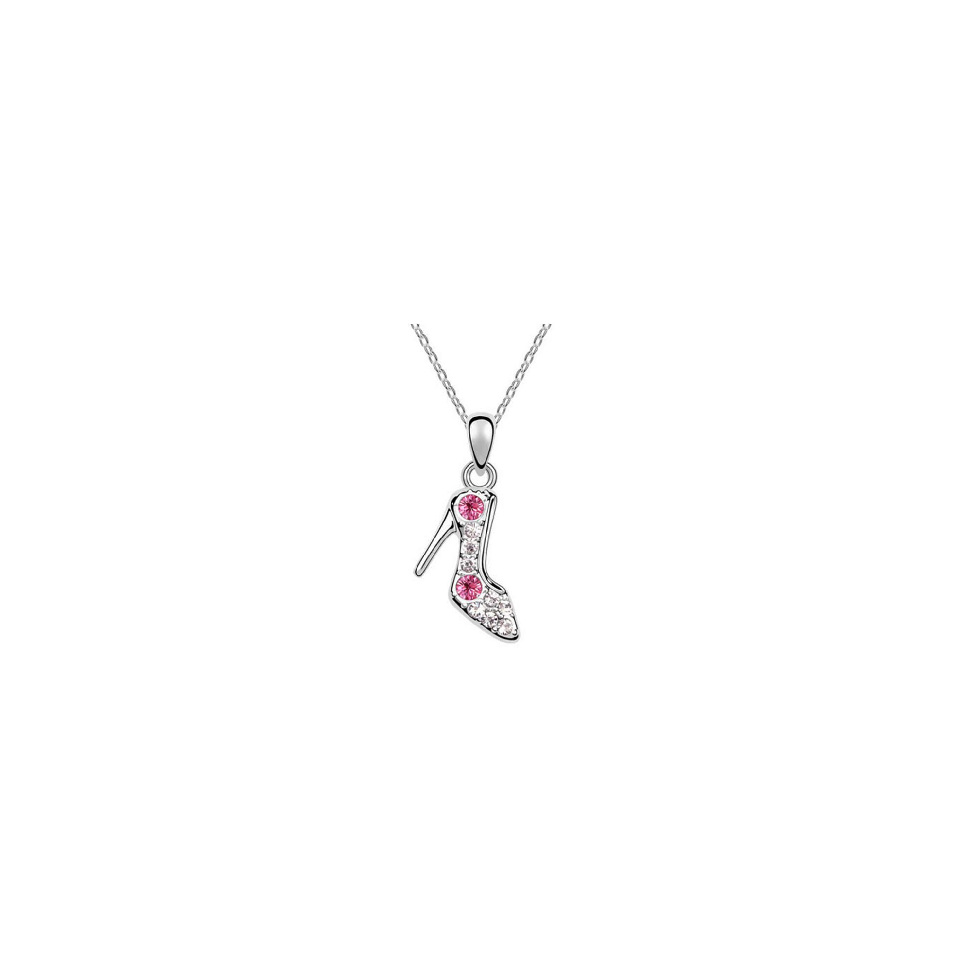 Cipellő Swarovski kristályos medál nyaklánccal