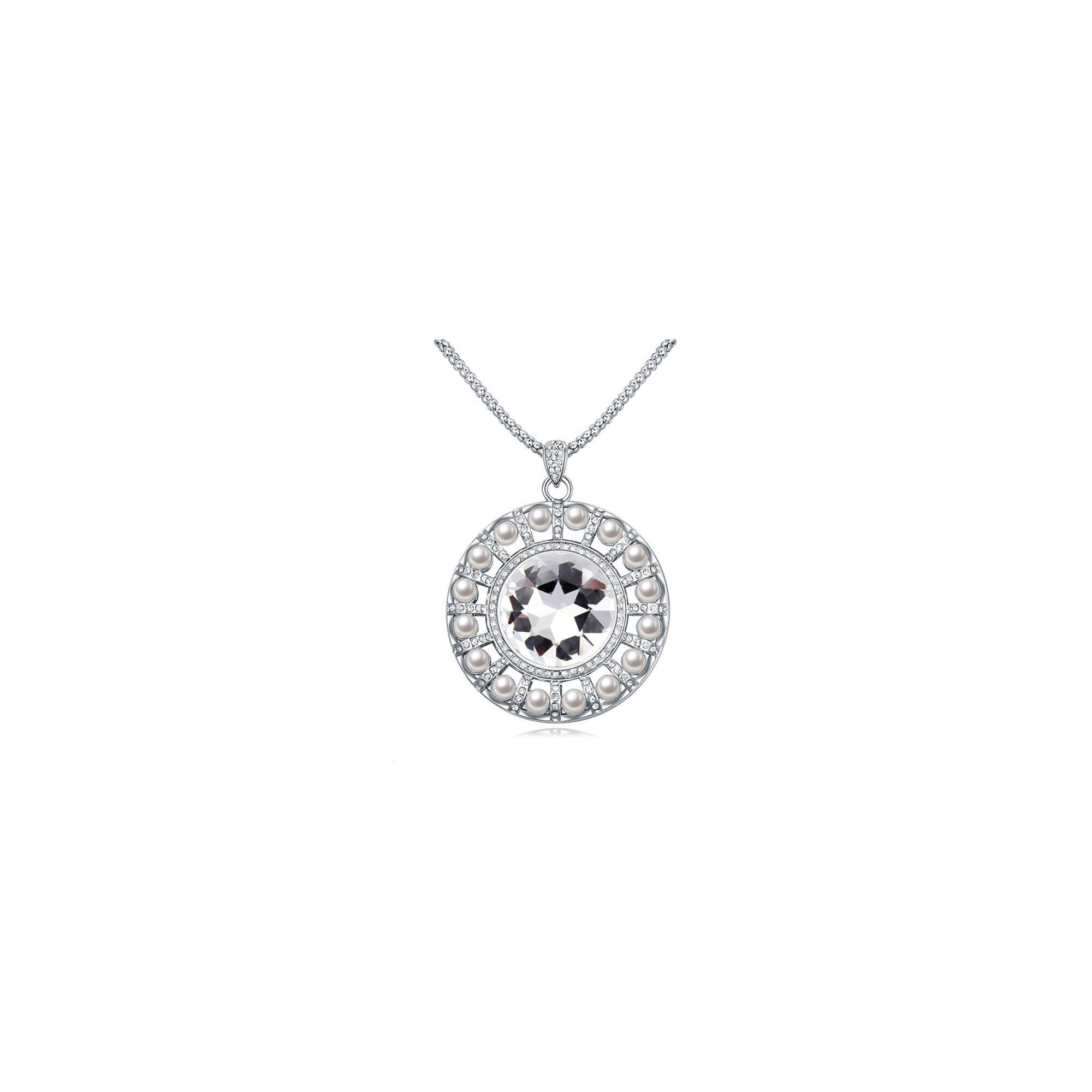 Gyémánt Swarovski medál nyaklánccal