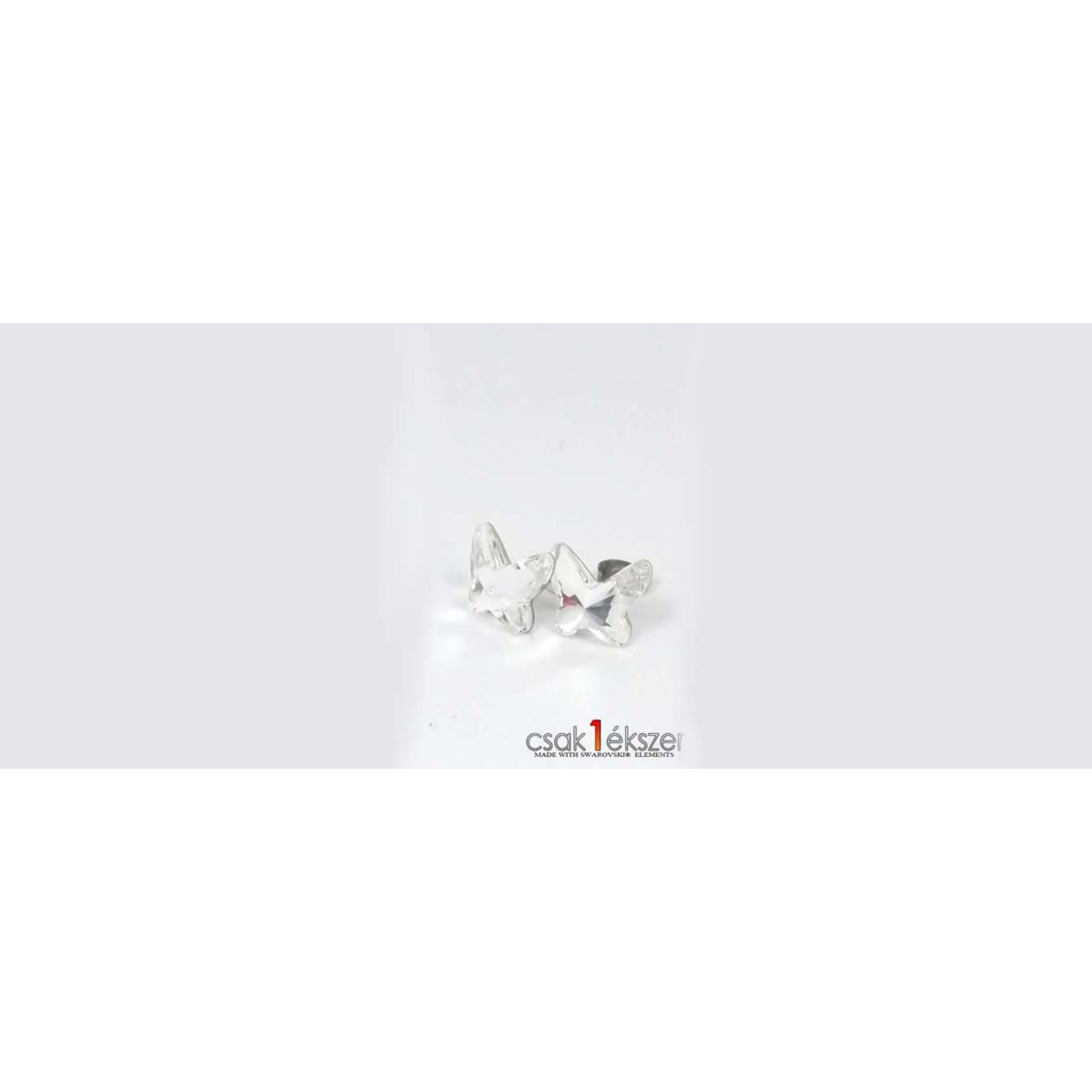 Swarovski kristályos bedugós fülbevaló