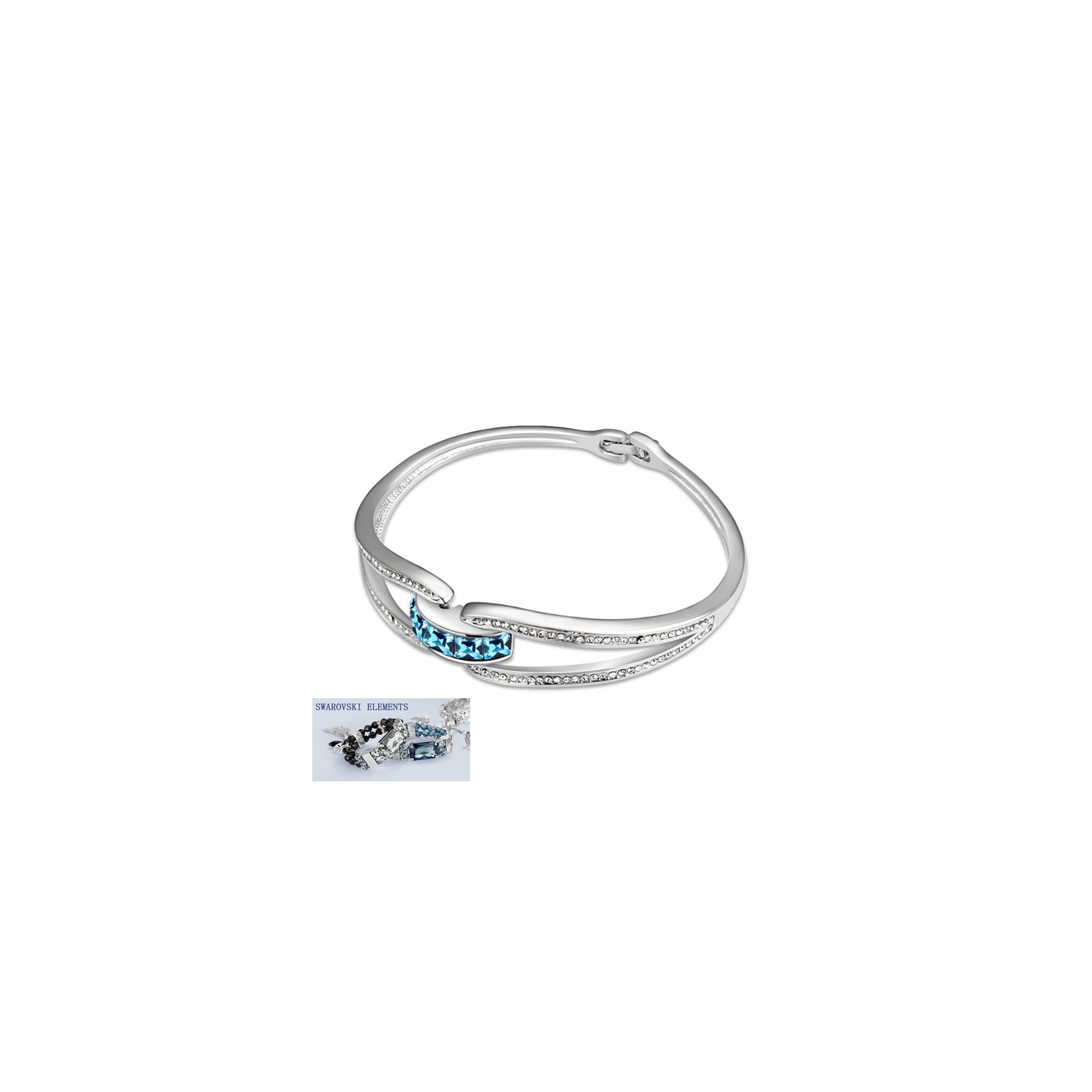 Csillogó romantika Swarovski kristályos karkötő