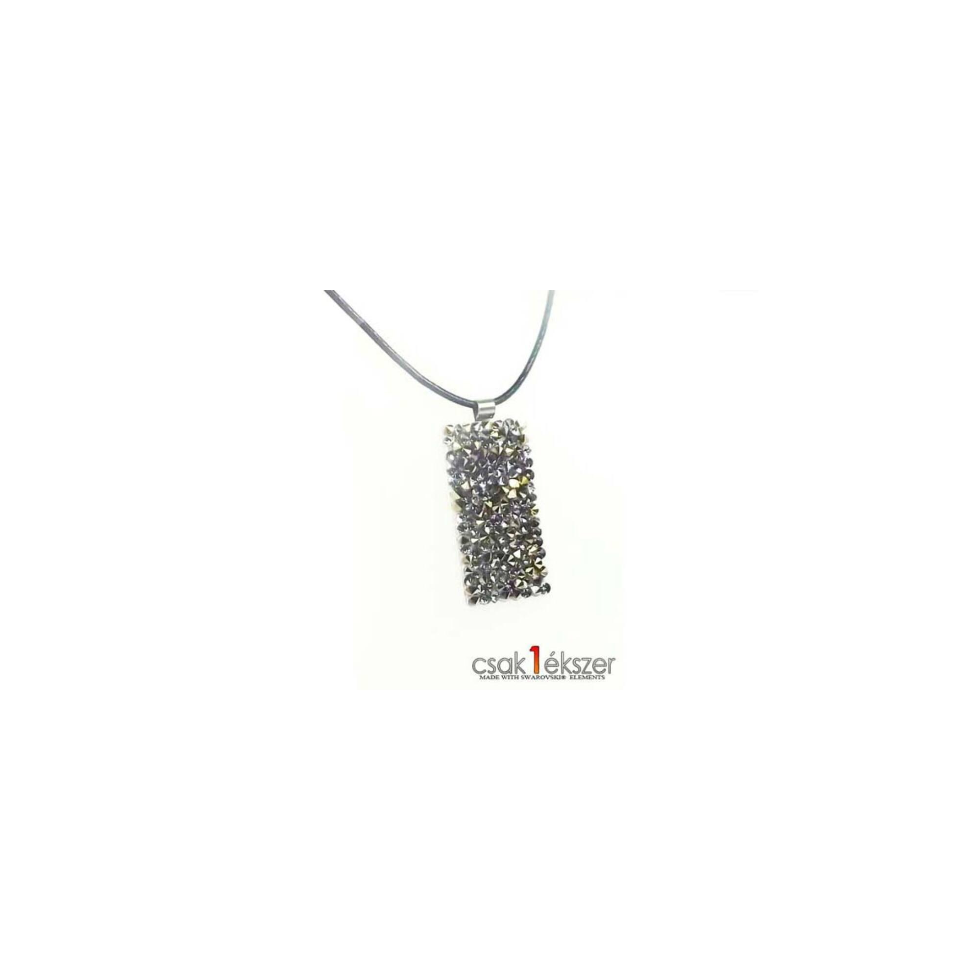 Crystal Rock medál Swarovski kristályokkal