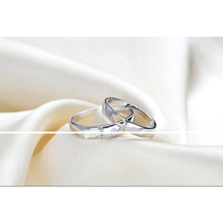 Ezüst karikagyűrű szett